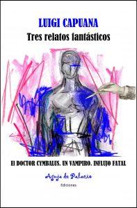 """Imagen de la portada del libro """"Luigi Capuana: tres relatos fantásticos"""""""